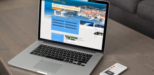 Virtus travel | Website.ba | Development of website