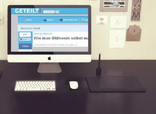 Geteilt.de | Website.ba | Development of website