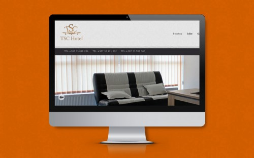 TSC Hotel | Website.ba | Development of website