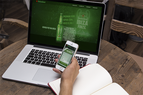 Heineken vas vodi na Ibizu | Website.ba | Development of website