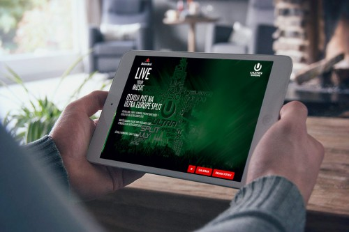 Heineken LIVE MUSIC UMF selfie app | Website.ba | Development of website