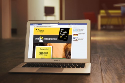 DogsTrust Facebook Video APP | Website.ba | Development of website