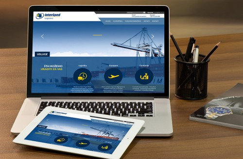 Interšped Logistics | Website.ba | Development of website