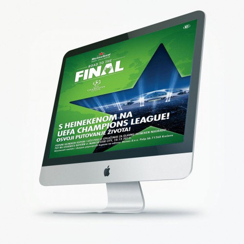 Heineken UEFA | Website.ba | Development of website